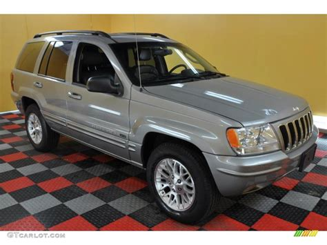 2002 silverstone metallic jeep grand limited 4x4 34851554 gtcarlot car color