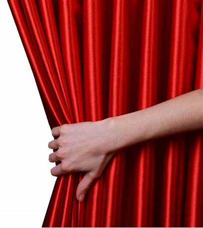 Curtain Curtains Opening Transparent Clipart Theater Stage