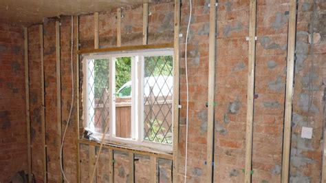 battening  wall  plasterboard  drylining fixing
