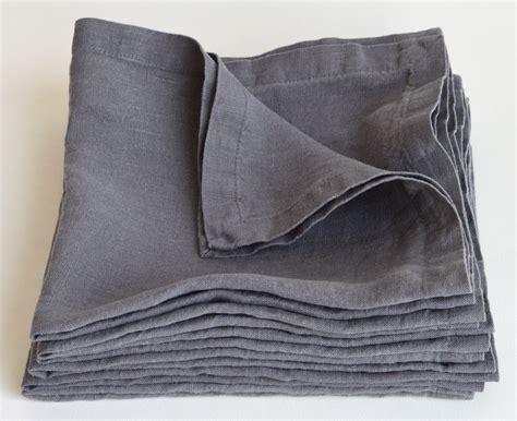 Servietten Grau by Leinen Servietten Set 6 St 45x 45 Cm Wei 223 Kaufen