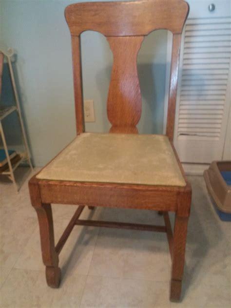 antique oak dining room chair antique appraisal