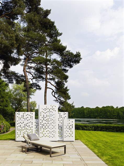 """Garten Im Quadrat  Moderner Sichtschutz """"separo"""", Metall"""