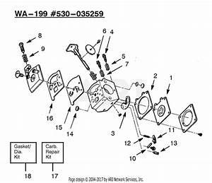 Poulan Xt50 Gas Trimmer Parts Diagram For Carburetor