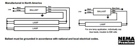 3 l t8 ballast t12 magnetic ballast wiring diagram rapid start wiring