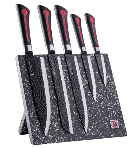 knife kitchen magnetic block imperial stainless extremely sharp including piece blocks knives steel hardware coatings sets