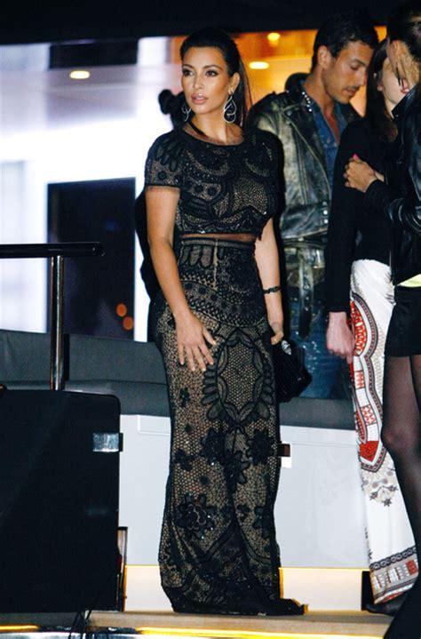 Kim Kardashian and Paris Hilton at Diddy's party | HELLO!