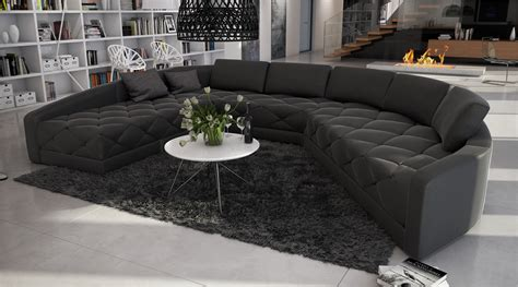 canap original grand canapé d 39 angle moderne et original en u roi 2 699
