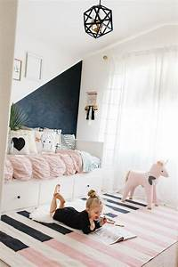 Peinture Mur Chambre : peinture acrylique murale mur noir chambre d enfant ~ Voncanada.com Idées de Décoration