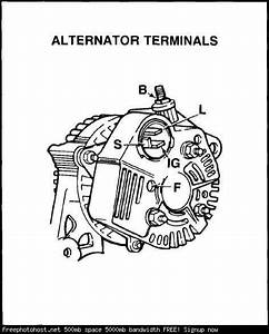 Tech Engine  A Series  Alternator Wiring Diagram