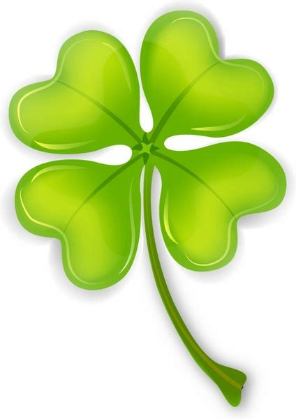 Clover Clip Clover Clipart Four Leaf Clover Pencil And In Color