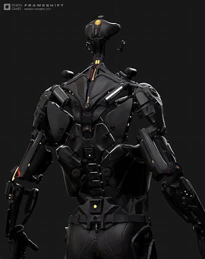 Concept Sci Fi Armor Suit Cyberpunk Combat