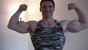 Posing and Flexing Biceps and Arms with Bodybuilder and ...