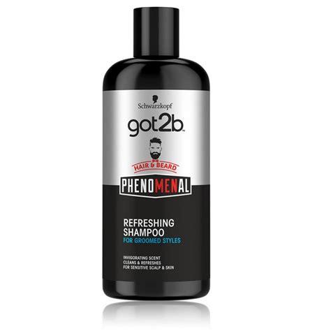 Schwarzkopf got2b PhenoMENal Refreshing šampūns jūtīgai galvas ādai vīriešiem 250 ml.