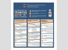 Calendario de trámites 2016