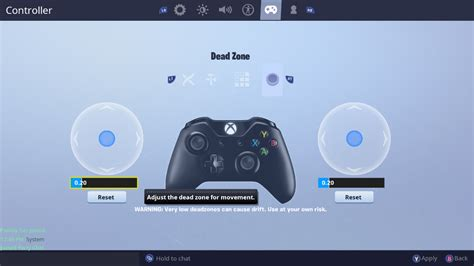 fortnite deadzone settings xbox aimbot adjustment thoughts added