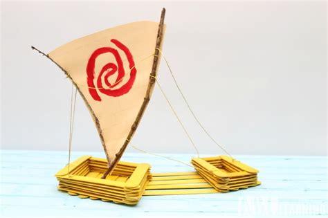 Moana Boat Paddle by Moana Canoe Popsicle Craft Moana Simply Today