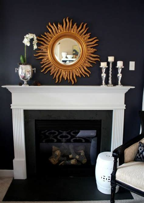 great ideas      fireplace decorating