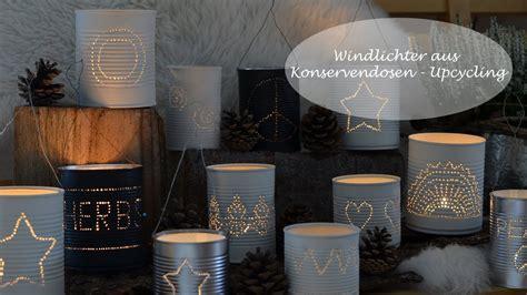 windlichter aus konservendosen ein upcycling projekt