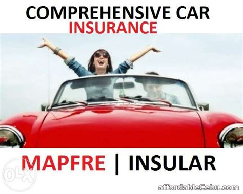 Comprehensive Car Insurance(mapfre Insular) Offer Cebu