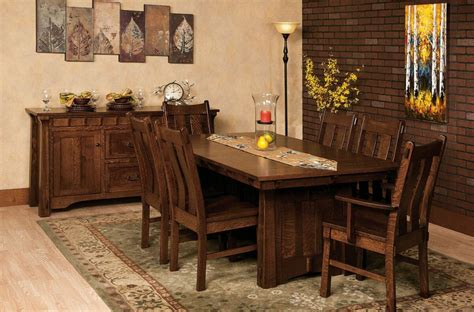craftsman kitchen table and chairs fontana craftsman kitchen set countryside amish furniture