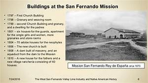 The West San Fernando Valley Lime Industry and Native ...