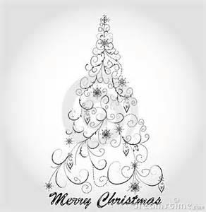 Elegant Christmas Tree Clip Art