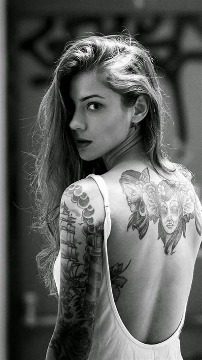 Iphone Wallpapers Inked Tattooed Wallpaperplay