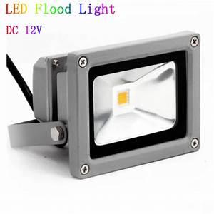 V dc w led flood light waterproof