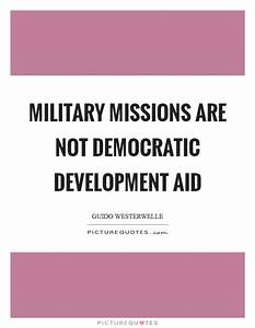 Guido Westerwel... Military Aid Quotes