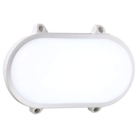 oval white led lights nordlux moon oval led wall light 20w white