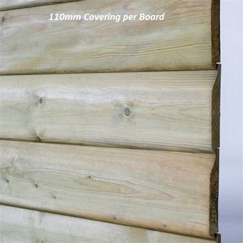 Treated Shiplap Timber - pressure treated shiplap boards kudos fencing supplies