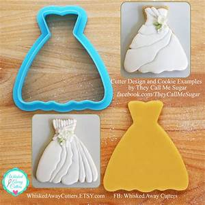 susan39s wedding dress cookie cutter With wedding dress cookie cutter
