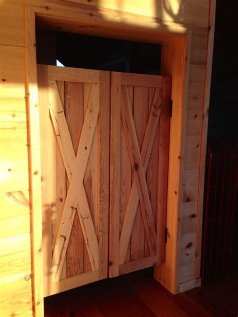 tracy lochridge   saloon style swinging doors