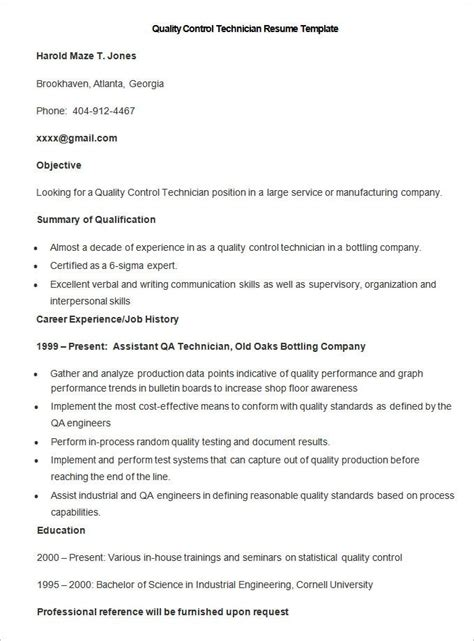 manufacturing resume template   samples examples