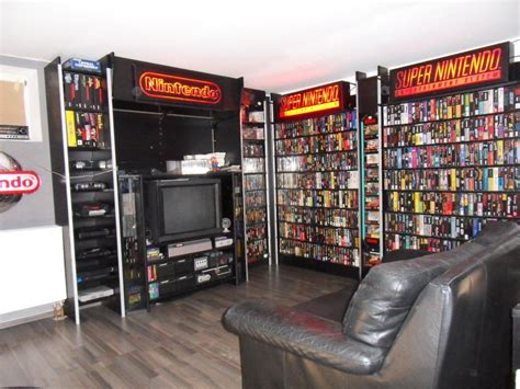 Nintendo Video Game Shelves Via Nintendoage User Moeki