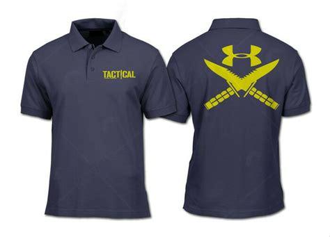 Underarmour Kaos jual kaos kerah armour tactical polo shirt