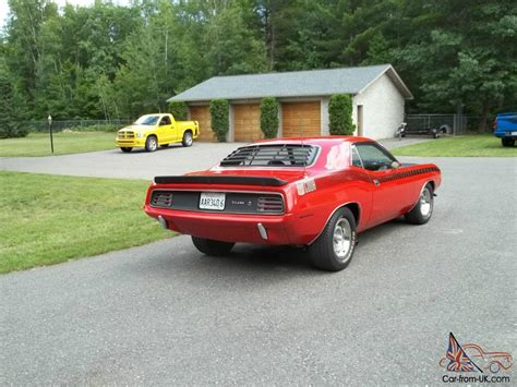 1970 plymouth aar cuda rare muscle car