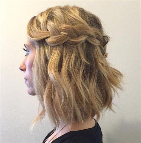 wasserfall frisur kurze haare