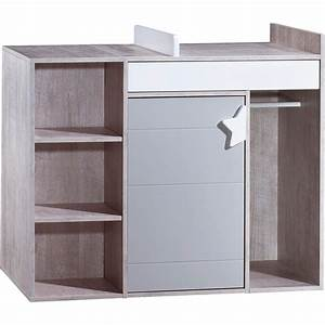 Meuble à Langer : commode langer volutive en bureau nova de sauthon meubles sur allob b ~ Teatrodelosmanantiales.com Idées de Décoration