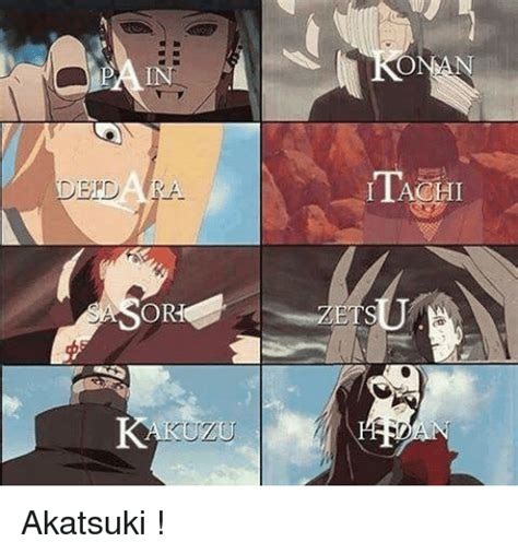 Akatsuki Memes - de dara orho akatsuki meme on sizzle