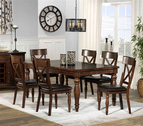thomasville dining room kingstown 7 dining room set chocolate 39 s