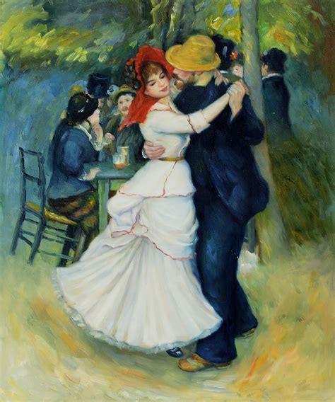 Dance At Bougival Art Wholesale Pierre Auguste Renoir Oil
