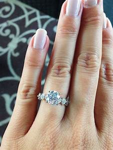 Real wedding rings 7 real girls with the prettiest for Real wedding ring
