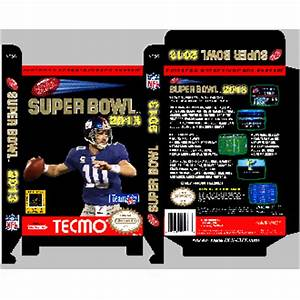 Super Tecmo Bowl 2013 *Manual Available*