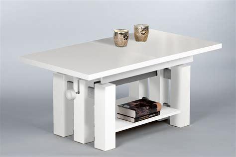 Wohnzimmertisch Höhenverstellbar Weiß couchtisch wohnzimmertisch beistelltisch tisch