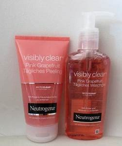 Neutrogena Visibly Clear Waschgel : castlemaker lifestyle blog neutrogena visibly clear pink grapefruit castlemaker lifestyle blog ~ Avissmed.com Haus und Dekorationen