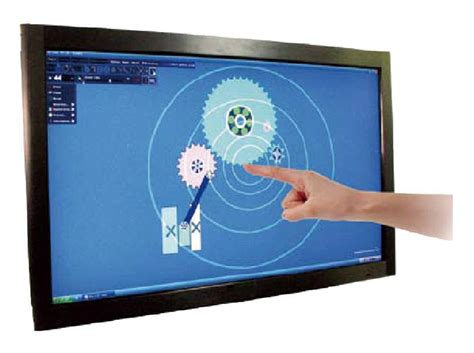 2 real touch points 42 quot multi infrared touch screen