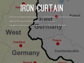 Iron Curtain Cold War Apush by Iron Curtain Us History Definition Curtain Menzilperde Net
