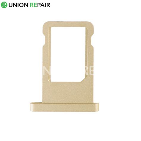 replacement  ipad air  sim card tray gold