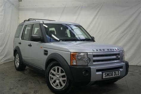 2008 Land Rover Discovery 3 Tdv6 Xs Diesel Silver Manual